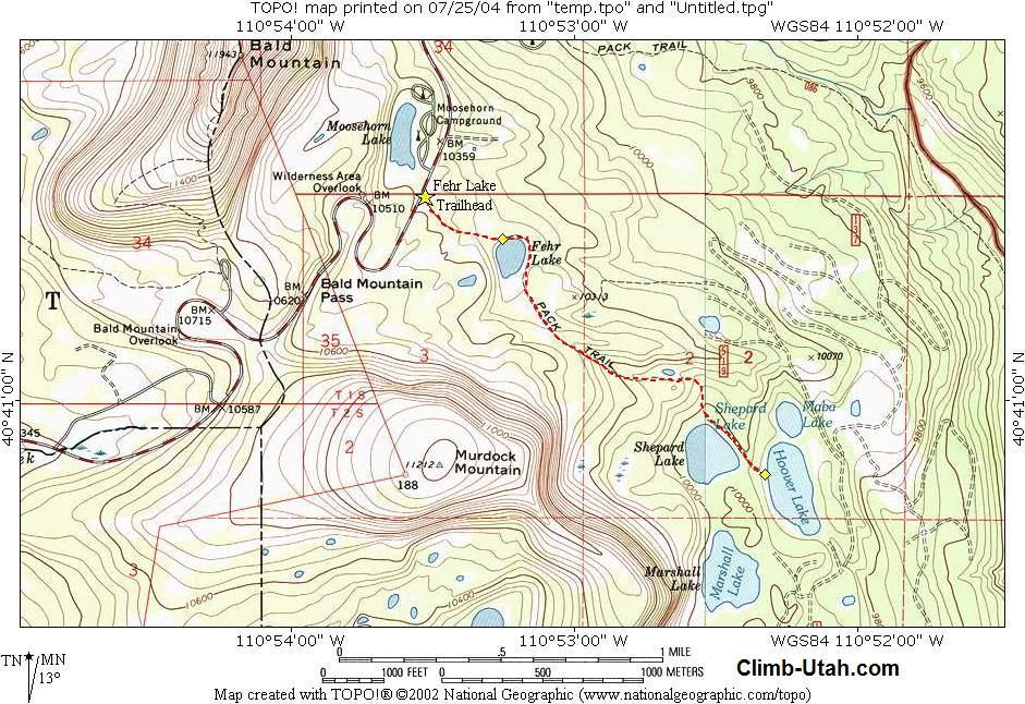 Fehr Lake - Uinta Mtns