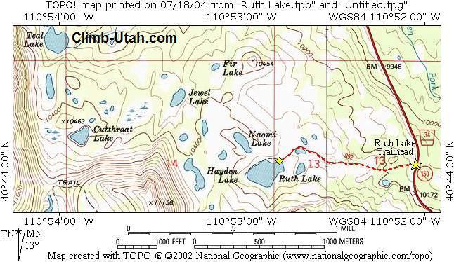 Ruth Lake - Uinta Mtns
