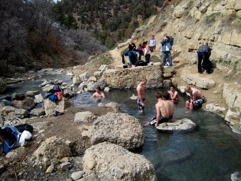 Fifth Water Hot Sping - Spanish Fork Canyon - Hiking & Hot Tubbing