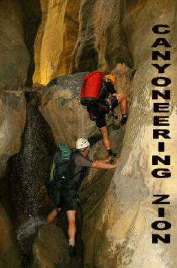 Canyoneering Zion