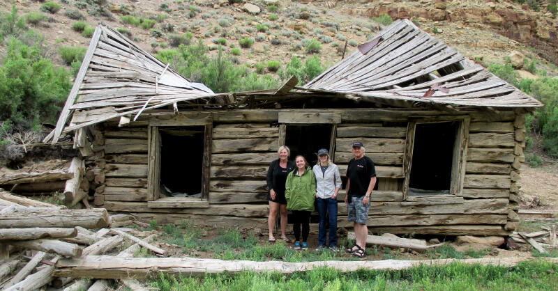 Ghost Town of Harper - Nine Mile Canyon