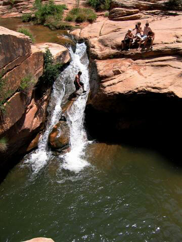 Mill Creek Swimming Hole, Moab Utah