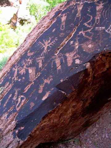 Mill Creek Canyon Moab Petroglyphs