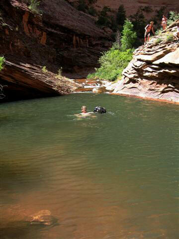 Mill Creek Canyon - Upper Swimming Hole