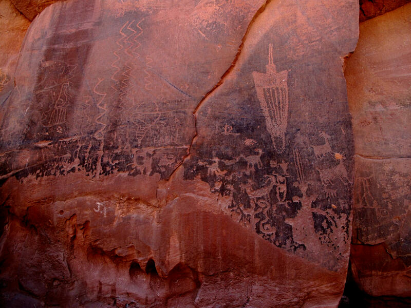 Moonflower Canyon Petroglyphs Moab Family Fun
