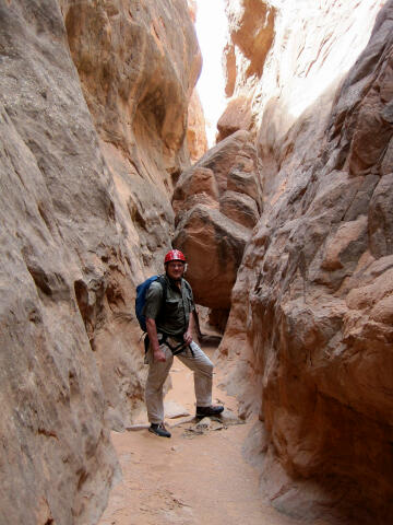 Winter slot canyons utah