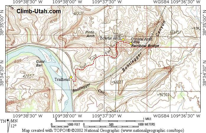 Corona Arch Moab