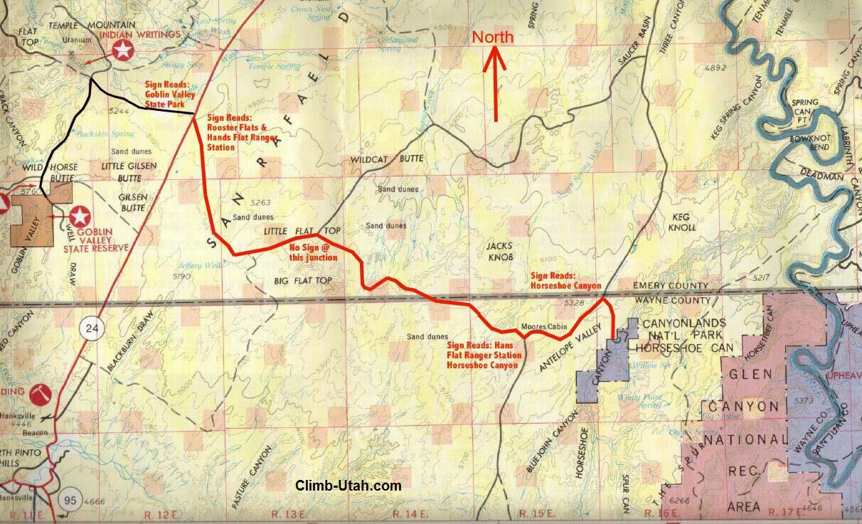Horseshoe Canyon Canyonlands National Park