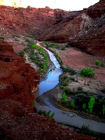 Muddy Creek Gorge - San Rafael Swell - Canyoneering