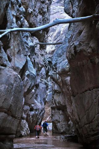 The Chute Of Muddy Creek San Rafael Swell Canyoneering