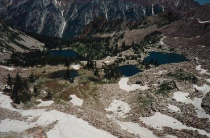 Red Pine Canyon & Maybird Gulch - Little Cottonwood Canyonupper red lake ut