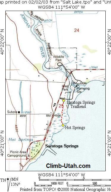 Saratoga Hot Spring   Hot Tubbing