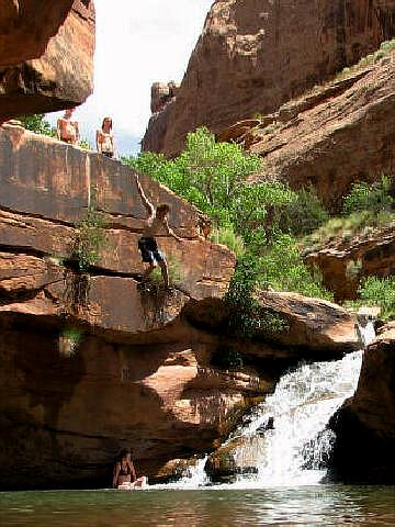 Mill Creek North Fork Moab Swimming Hole And Petroglyphs
