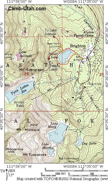 Silver Lake - Big Cottonwood Canyon - Hiking
